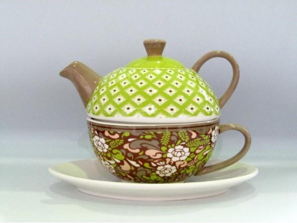 Tea For One Colectia Floare Verde