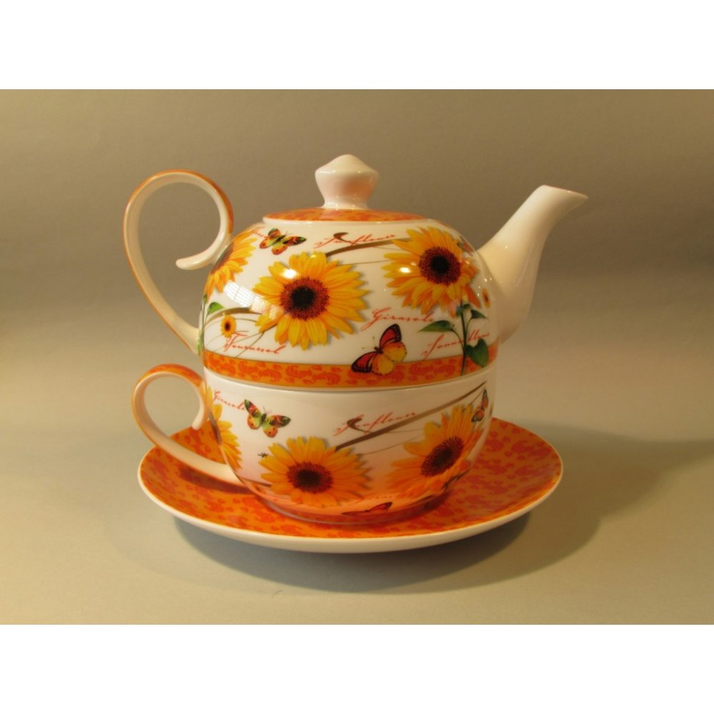 Tea-for-One Colectia Floarea Soarelui si Fluturasi