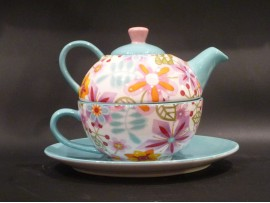 Tea For One Colectia Flori Multicolore