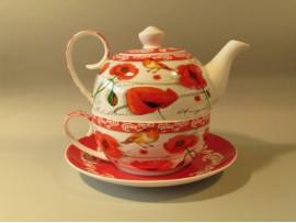 Tea For One Colectia Maci si o Vrabiuta