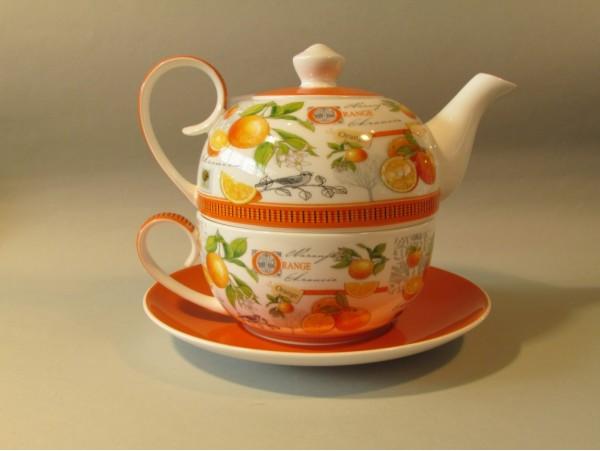 Tea For One Colectia Portocale si Pasari