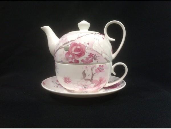 Tea For One Colectia Trandafir cu Porumbel