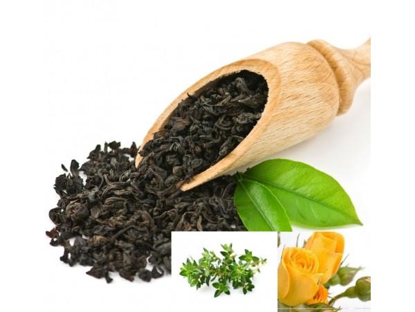 Ceai Negru cu Cimbru