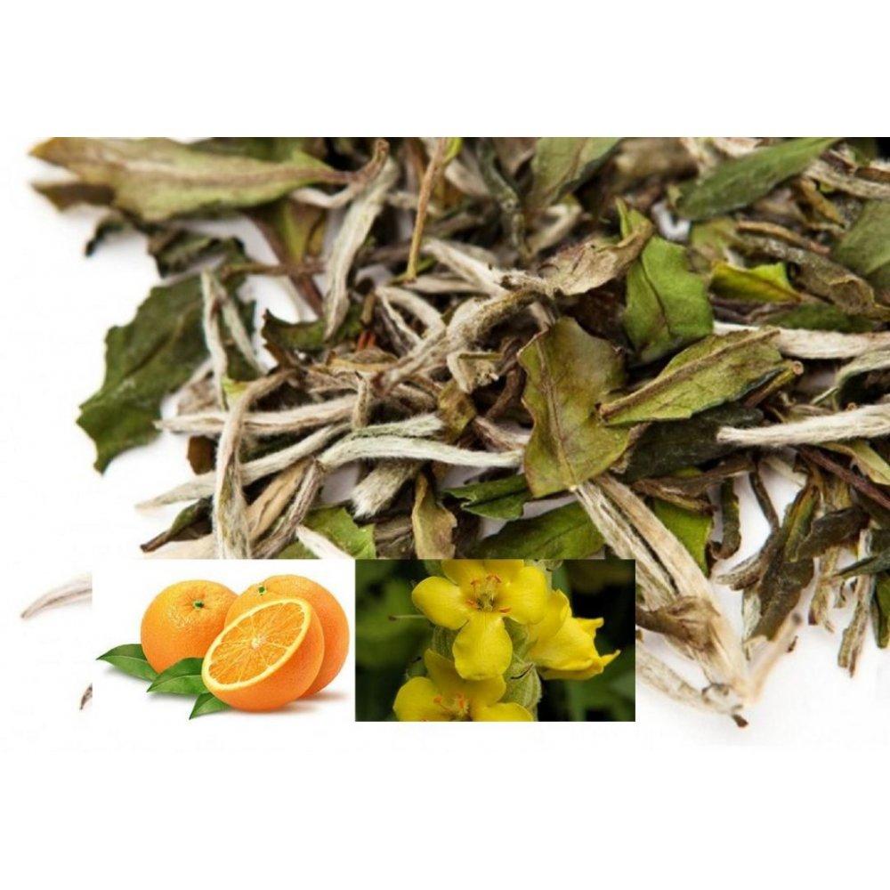 Ceai Alb White and Orange