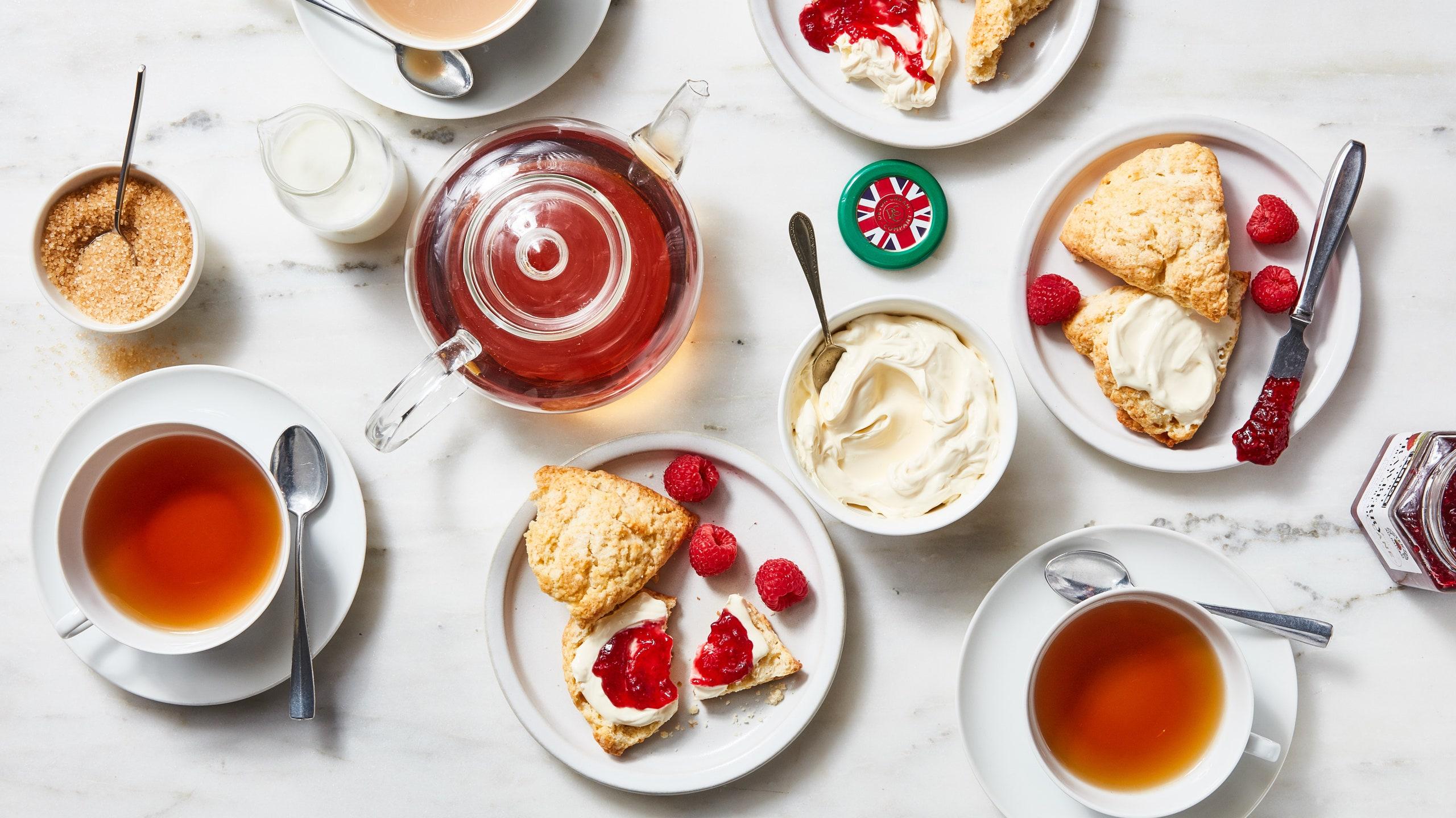 Ceaiul si mancarea - o combinatie paradisiaca!