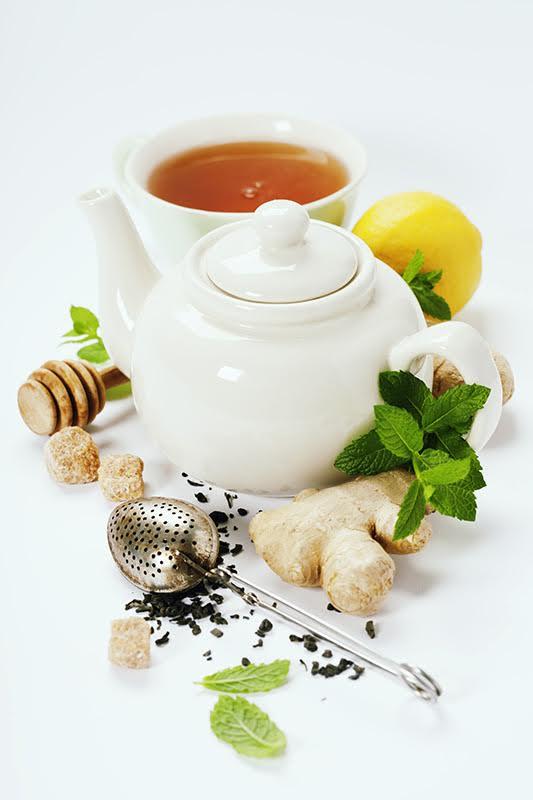 ceai de ghimbir reteta